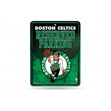 Boston Celtics Metal Parking Sign
