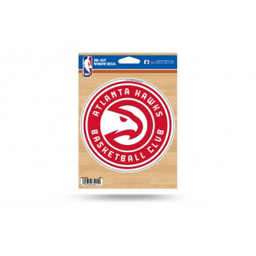 Atlanta Hawks Die Cut Vinyl Decal