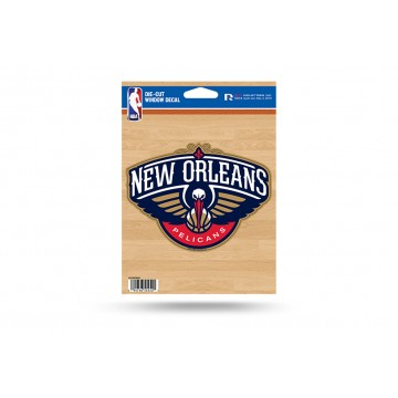 New Orleans Pelicans Die Cut Vinyl Decal