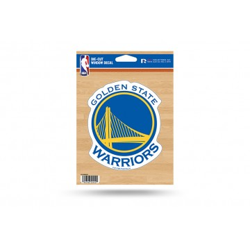 Golden State Warriors Die Cut Vinyl Decal
