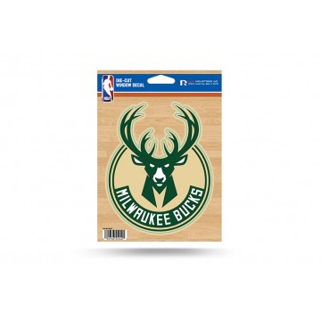 Milwaukee Bucks Die Cut Vinyl Decal