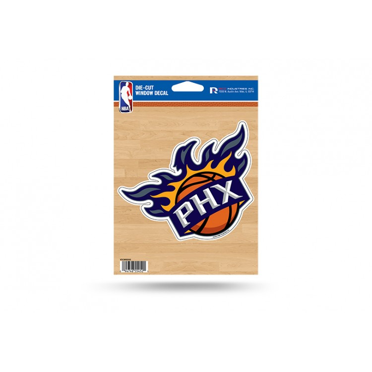 Phoenix Suns Die Cut Vinyl Decal