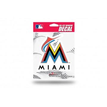 Miami Marlins Die Cut Vinyl Decal