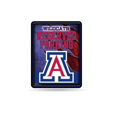 Arizona Wildcats Metal Parking Sign