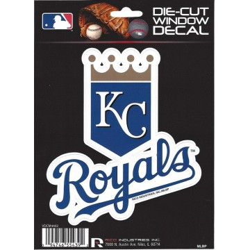 Kansas City Royals Die Cut Vinyl Decal
