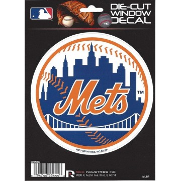New York Mets Die Cut Vinyl Decal