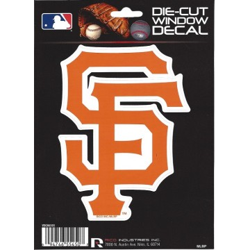 San Francisco Giants Die Cut Vinyl Decal