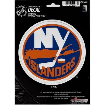 New York Islanders Die Cut Vinyl Decal