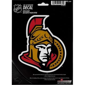 Ottawa Senators Die Cut Vinyl Decal