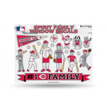 Cincinnati Reds Family Decal Set