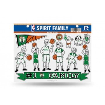 Boston Celtics Family Decal Set