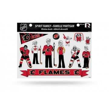 Calgary Flames Family Decal Set