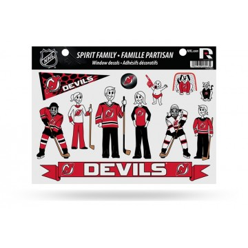 New Jersey Devils Family Decal Set