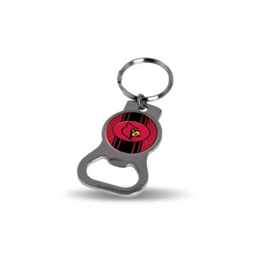 Louisville Cardinals Key Chain And Bottle Opener