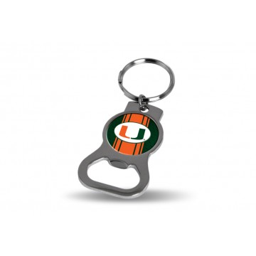 Miami Hurricanes Key Chain And Bottle Opener