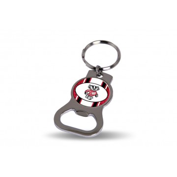 Wisconsin Badgers Key Chain And Bottle Opener