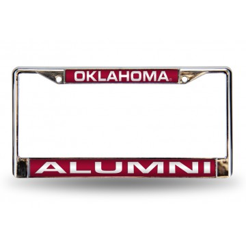 Oklahoma Sooners Alumni Laser Chrome License Plate Frame