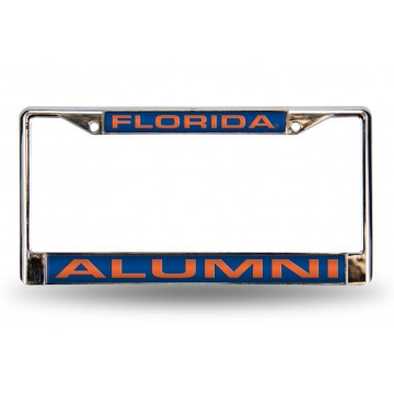 Florida Gators Alumni Laser Chrome License Plate Frame