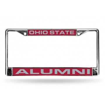 Ohio State Buckeyes Alumni Laser Chrome License Plate Frame