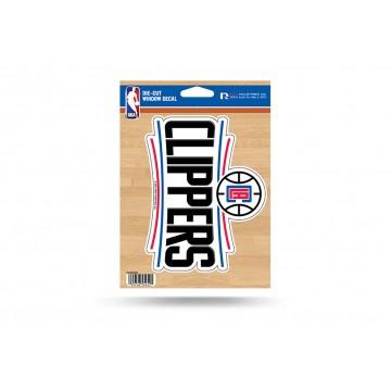 Los Angeles Clippers Die Cut Vinyl Decal