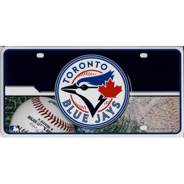 Toronto Blue Jays Metal License Plate