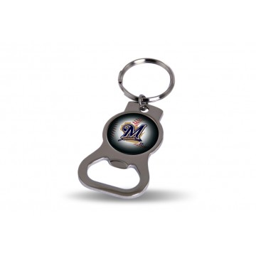 Milwaukee Brewers Key Chain And Bottle Opener