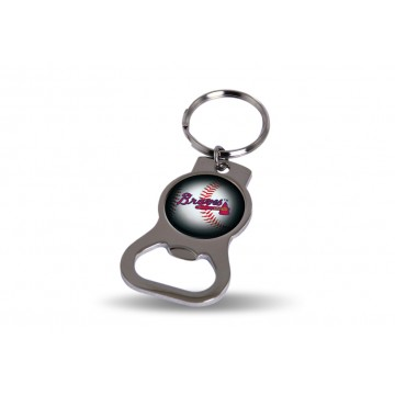 Atlanta Braves Key Chain And Bottle Opener