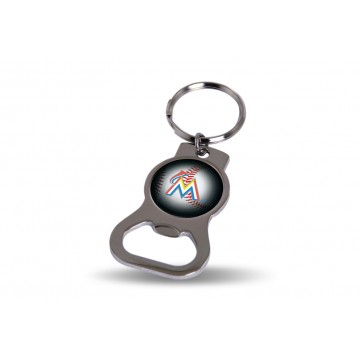 Miami Marlins Key Chain And Bottle Opener