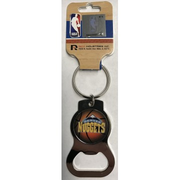 Denver Nuggets Key Chain And Bottle Opener