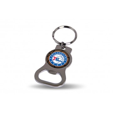 Philadelphia 76ers Key Chain And Bottle Opener