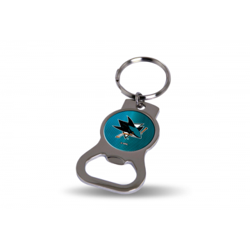 San Jose Sharks Key Chain And Bottle Opener