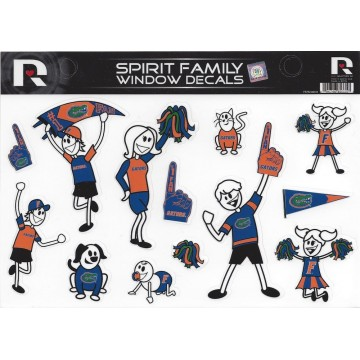 Florida Gators Family Spirit Decal Set