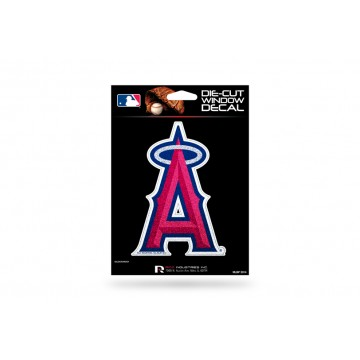 Anaheim Angels Glitter Die Cut Vinyl Decal