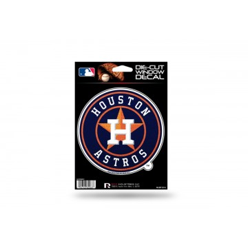 Houston Astros Glitter Die Cut Vinyl Decal