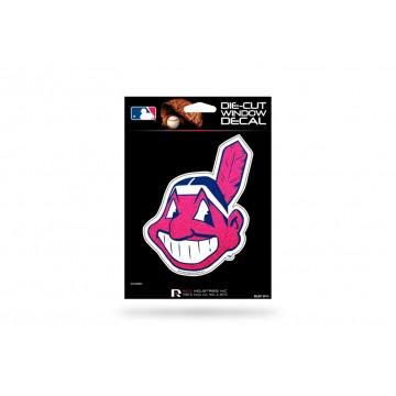 Cleveland Indians Glitter Die Cut Vinyl Decal