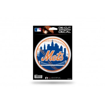 New York Mets Glitter Die Cut Vinyl Decal