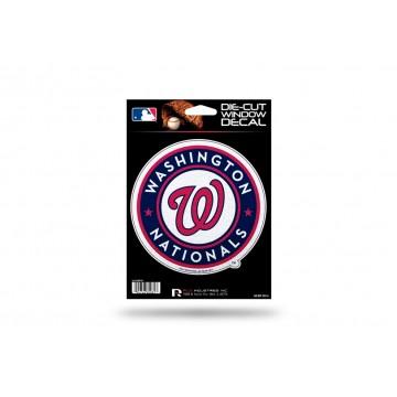 Washington Nationals Glitter Die Cut Vinyl Decal