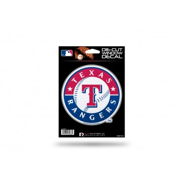 Texas Rangers Glitter Die Cut Vinyl Decal