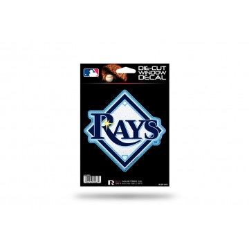 Tampa Bay Rays Glitter Die Cut Vinyl Decal