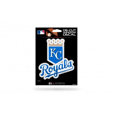 Kansas City Royals Glitter Die Cut Vinyl Decal