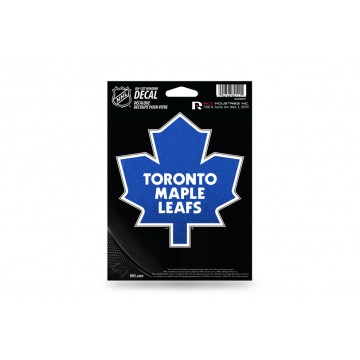 Toronto Maple Leafs Glitter Die Cut Vinyl Decal