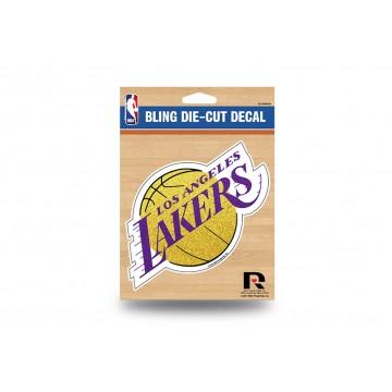 Los Angeles Lakers Glitter Die Cut Vinyl Decal