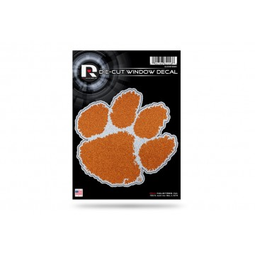 Clemson Tigers Glitter Die Cut Vinyl Decal