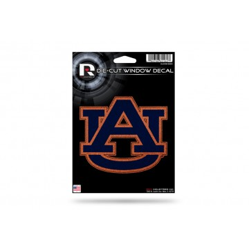 Auburn Tigers Glitter Die Cut Vinyl Decal