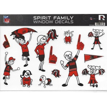 Cleveland Browns Family Spirit Decal Set