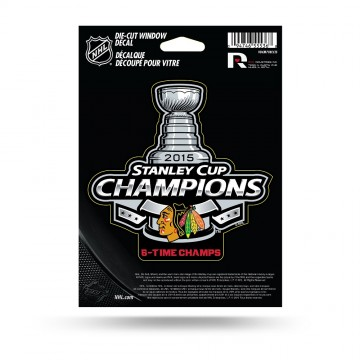 Chicago Blackhawks 2015 Die Cut Vinyl Decal
