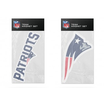 New England Patriots Team Magnet Set