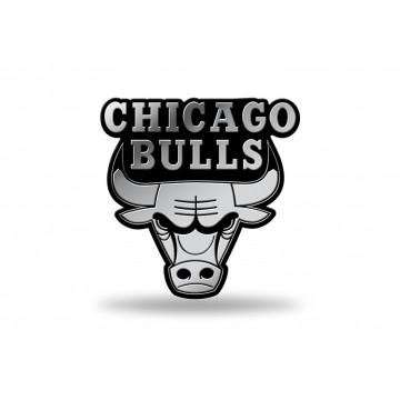 Chicago Bulls NBA Plastic Auto Emblem