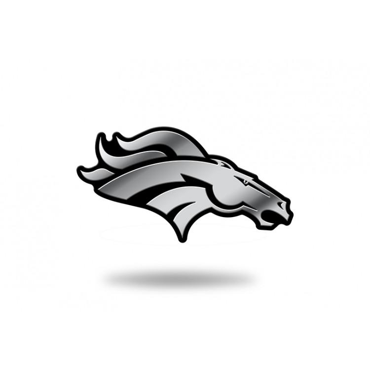 Denver Broncos NFL Plastic Auto Emblem