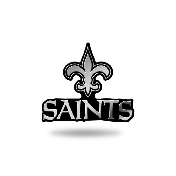 New Orleans Saints NFL Plastic Auto Emblem